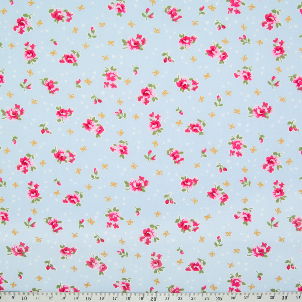 Rose & Hubble - 100% Cotton Fat Quarter Bundle - Ditsy Trio