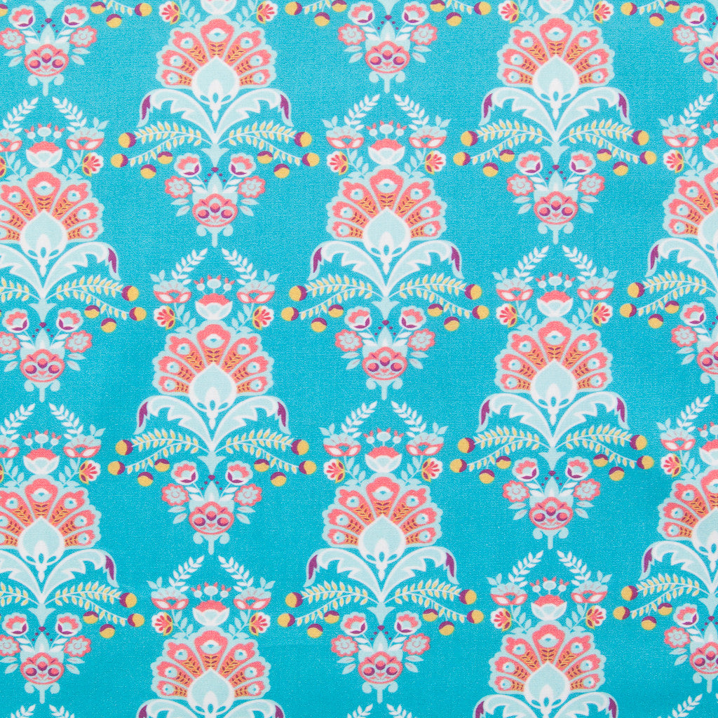 Flora Emily - Cotton Dressmaking Fabric - by Swafing