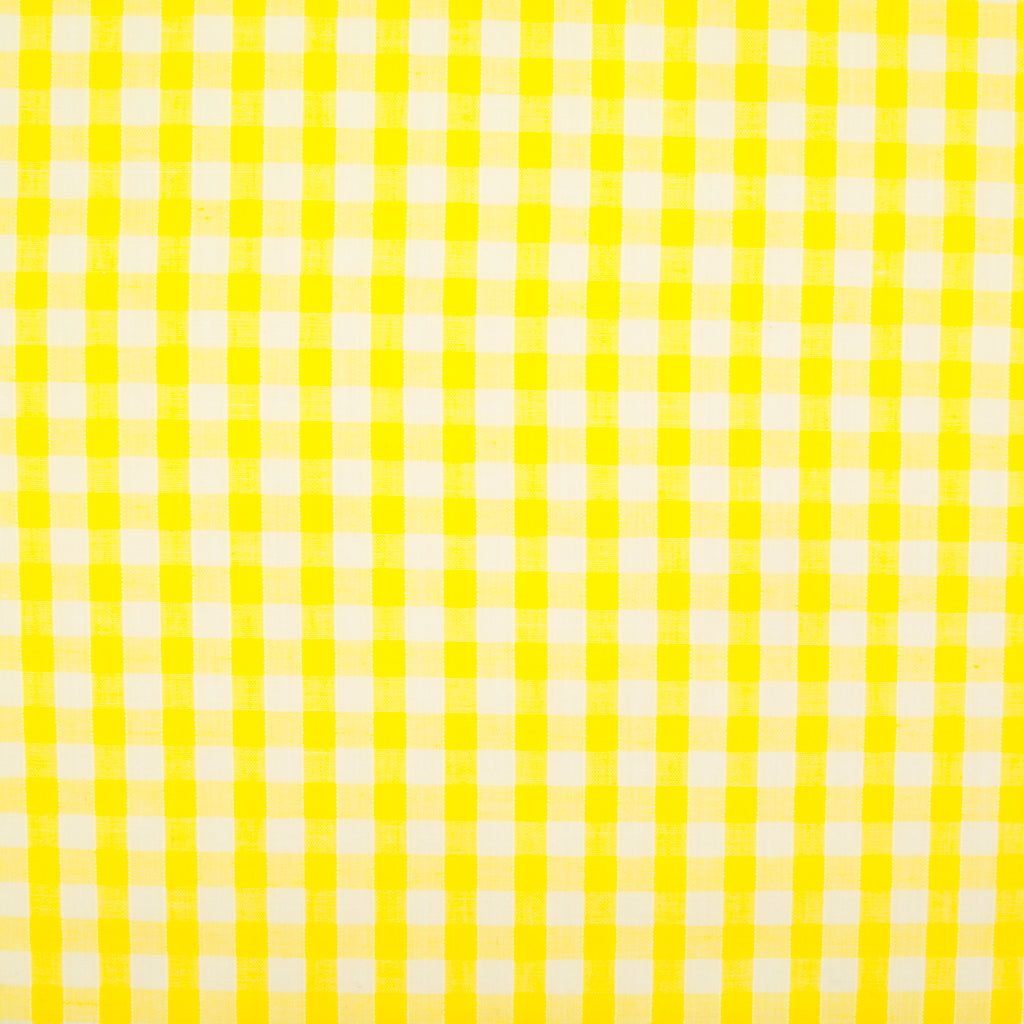 "1/4"" Corded Gingham Check - Yellow"