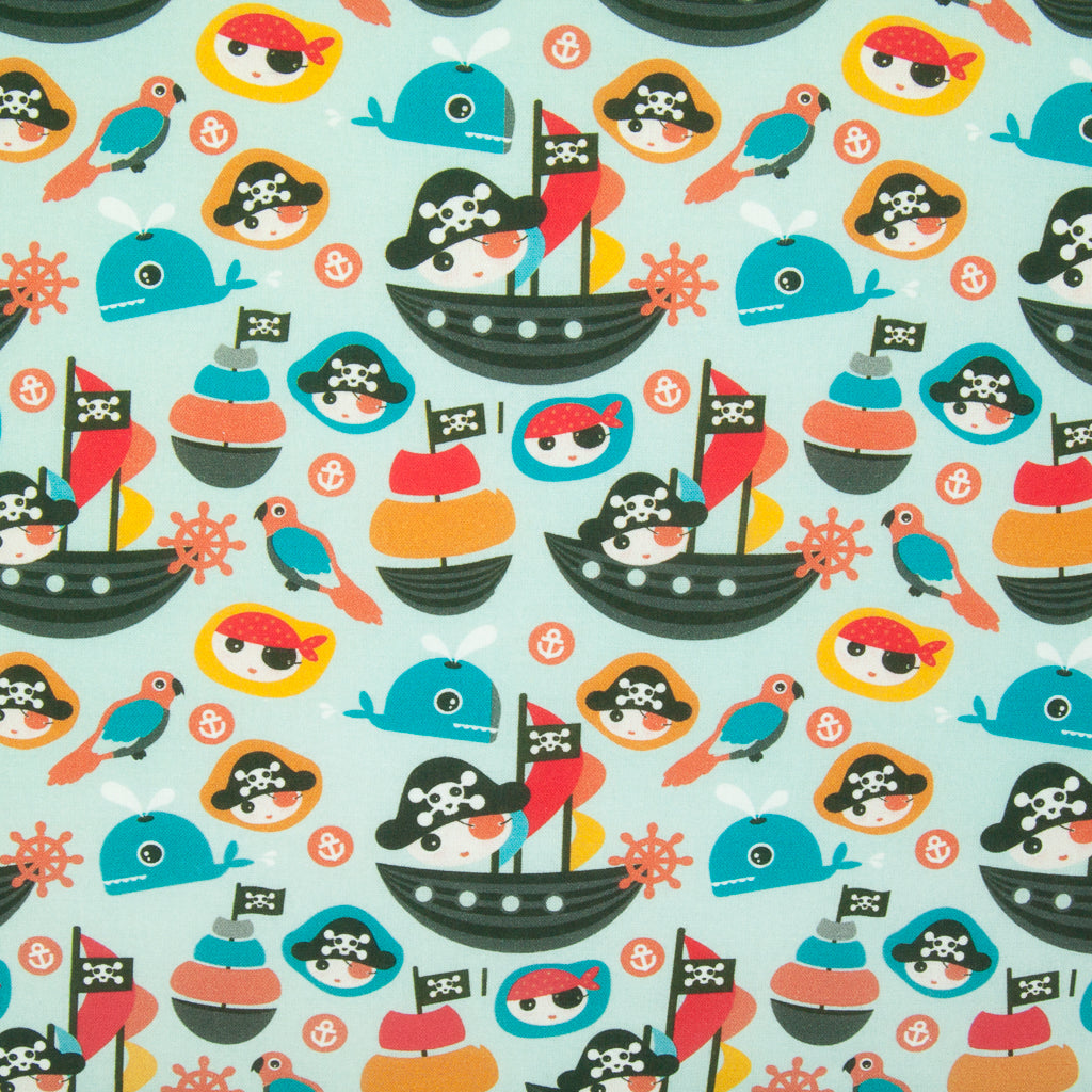 Baby Pirate - 100% Cotton Fabric