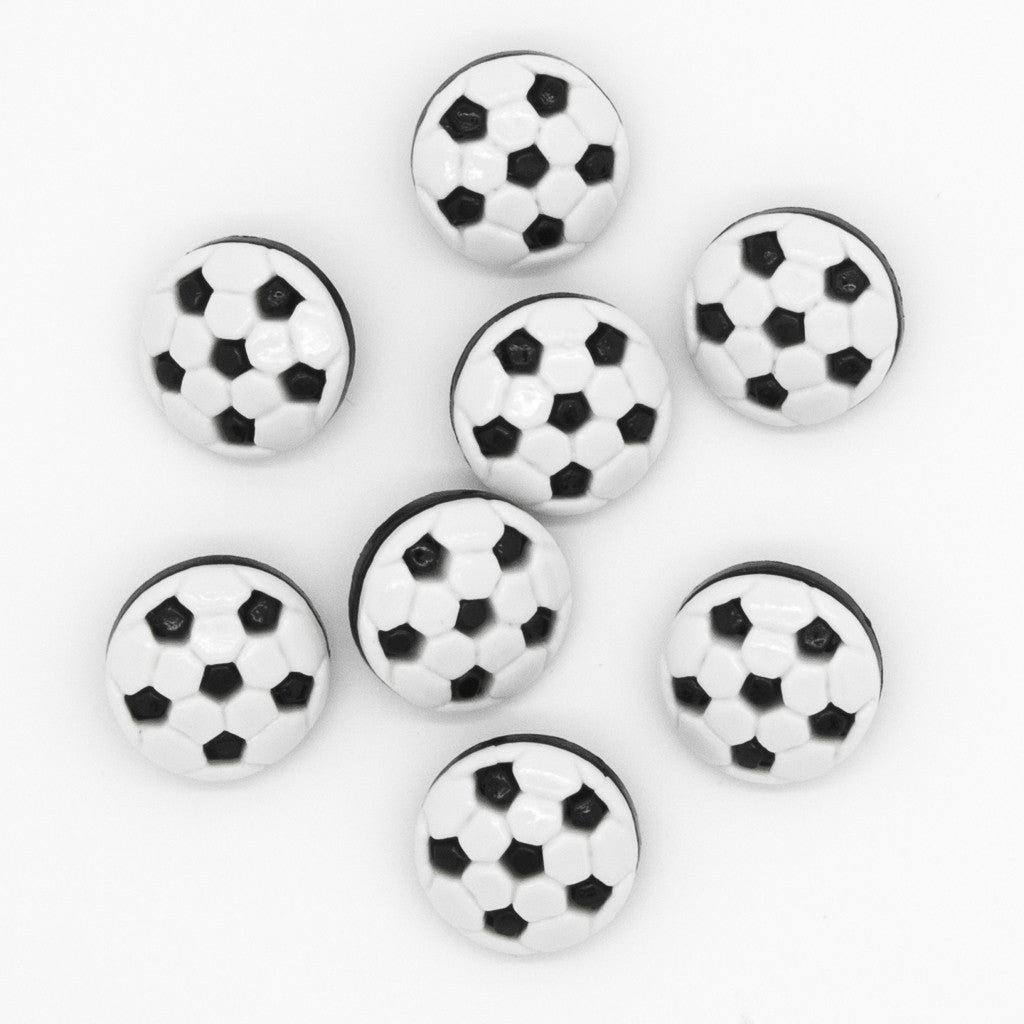 Football Crazy - Buttons - Pack of 9