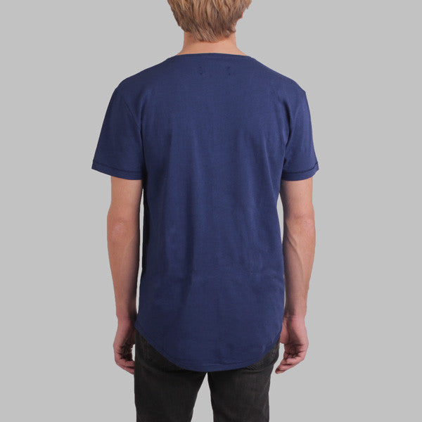 Enkel Basics The Loose Tee - organic cotton T-shirt - L / dark-blue - 3