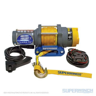 Superwinch Terra 25SR 12v ATV/UTV Winch - Synthetic Rope - 1125230