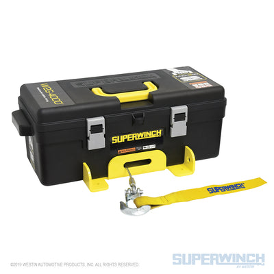 Superwinch Winch2Go SR 12v Portable Winch - Synthetic Rope - 1140232
