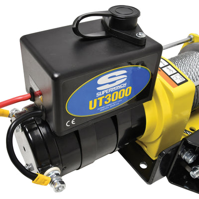 Superwinch UT3000 12v Utility Winch - Steel Cable - 1331200