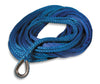 "Superwinch 90-24506 3/8"" x 80' Synthetic Blue Winch Rope"