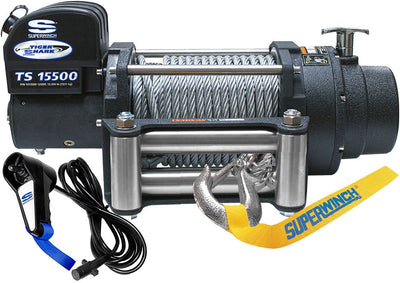 Review what the experts say about the Superwinch Tiger Shark 15500 1515200