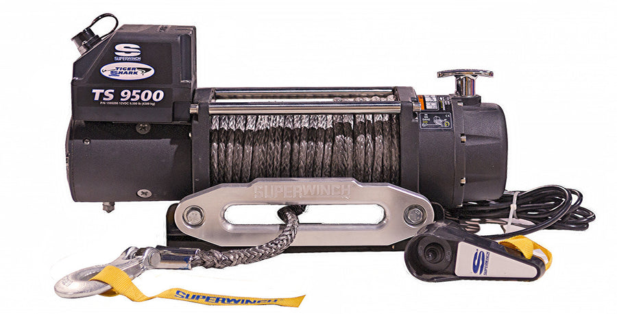 "Superwinch 90-24595 3/8"" x 80' Replacement Synthetic Rope Tiger Shark 9500SR/11500SR"