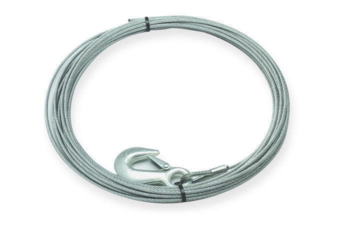 3/16' X 50' Wire Rope Assembly with Hook