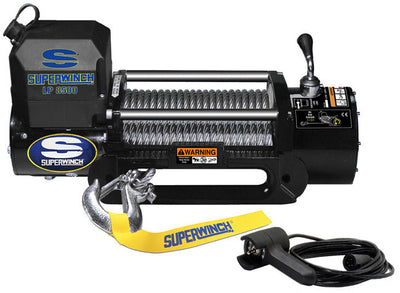 Superwinch LP 8500 is more than just a cheap winch