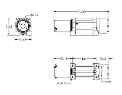 SUPERWINCH Terra 45 SR, 1145230