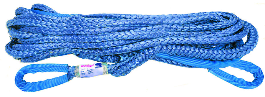 "2242 Superwinch Synthetic Rope Extension 3/8"" X 75'"