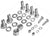 87-10993 HAWSE HARDWARE KIT FOR TERRA