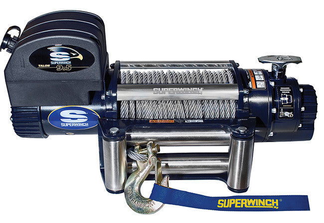 Superwinch Talon 9.5 12v Winch - Steel Rope - 1695200