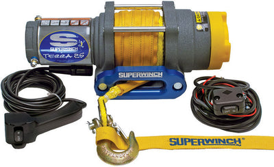 Synthetic rope Superwinch Talon is ready for your next ATV review