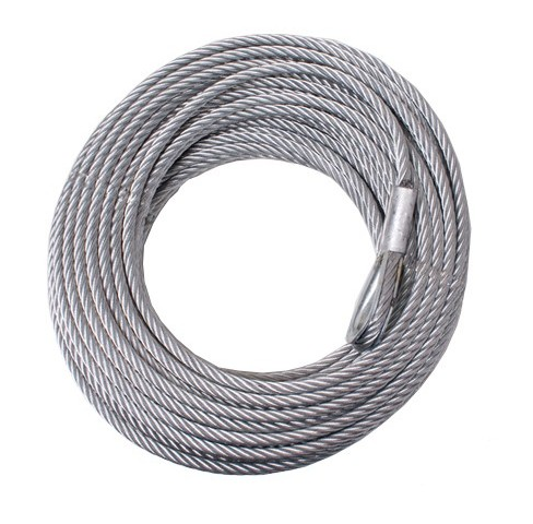"Wire Rope 1/4"" x 55' (6.5mm x 16.76m) for Terra 45, 87-42612 cable"