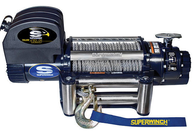 Superwinch Talon 12.5 12v Winch - Steel Rope - 1612200