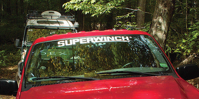 Superwinch Decal Logo
