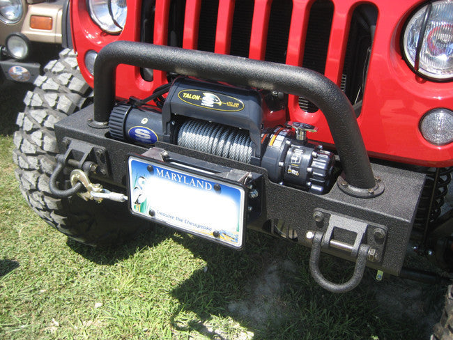 Top reviewed Jeep winch with dyneema synthetic rope from Viking