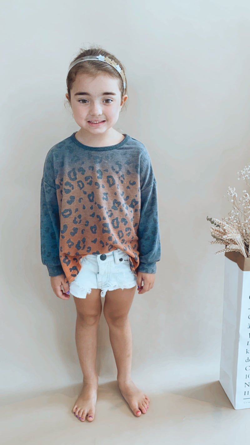 Kids Tie Dye Animal Tunic
