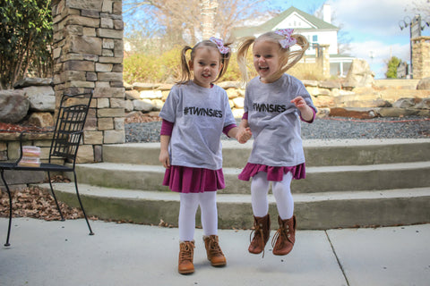 #Twinsies Infant & Toddler Tee