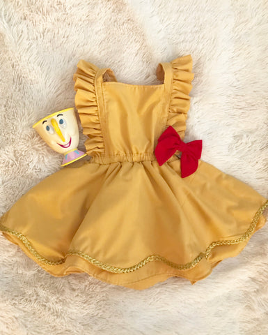 CUSTOM || Belle Inspired Pinafore
