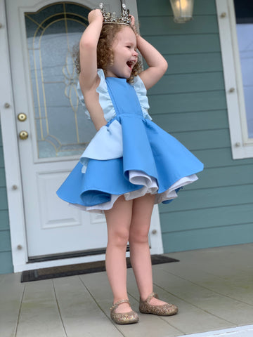 Cinderella Inspired Pinafore