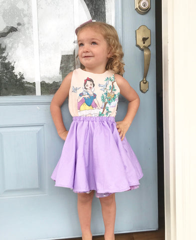 Vintage Snow White Deluxe Dress || 3-4t