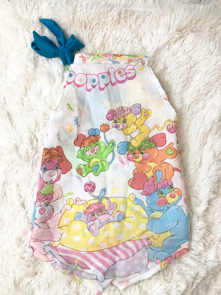 Vintage Romper || Popples (Double Sided) || 3-4t