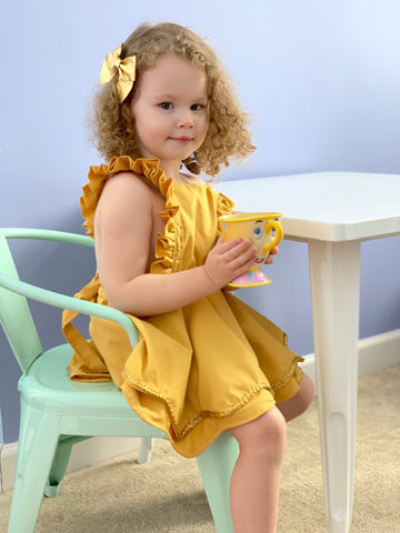 Belle Inspired Pinafore