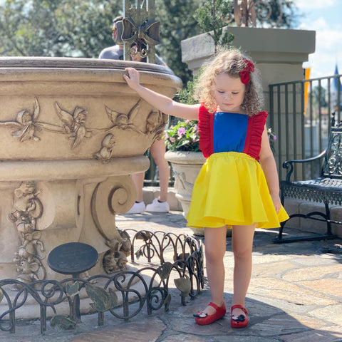 Snow White Inspired Pinafore