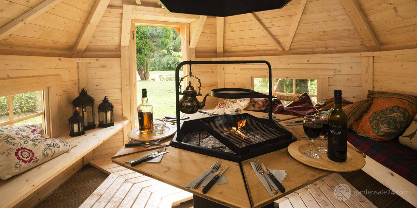 Barbecue Cabin And 5 Amazing Party Ideas!