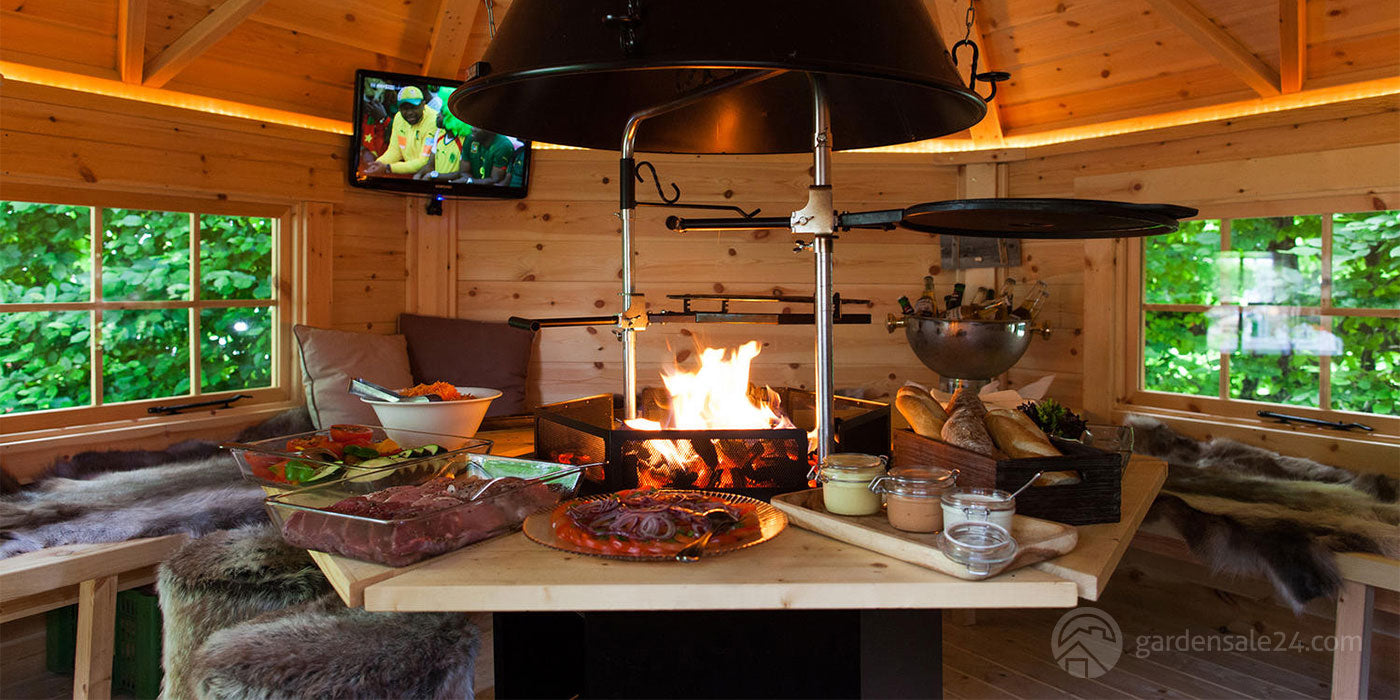 7 Good Reasons Why Do You Need A Wooden Barbecue Hut