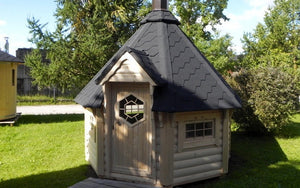 6.9 m2 baby bbq hut for sale