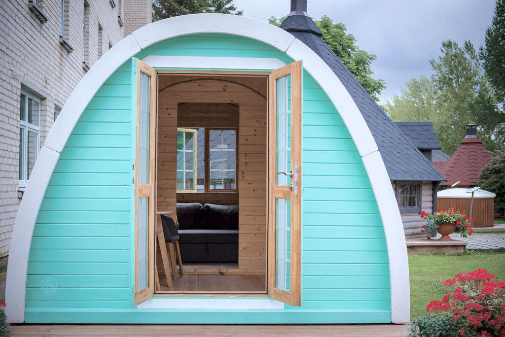Insulated Glamping Pods