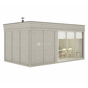 Outdoor Sauna Room Kits (3x5) (3x6)