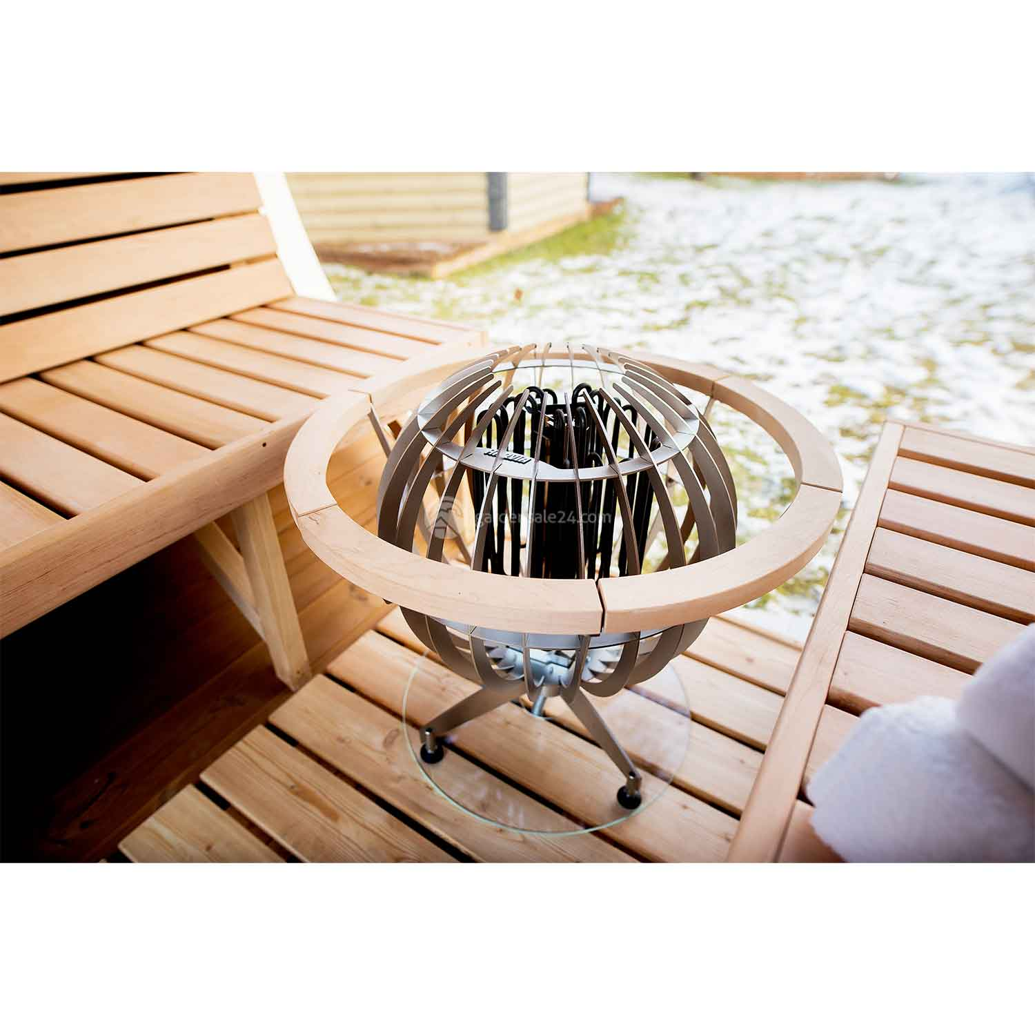 Luxury Barrel Sauna (3 m)