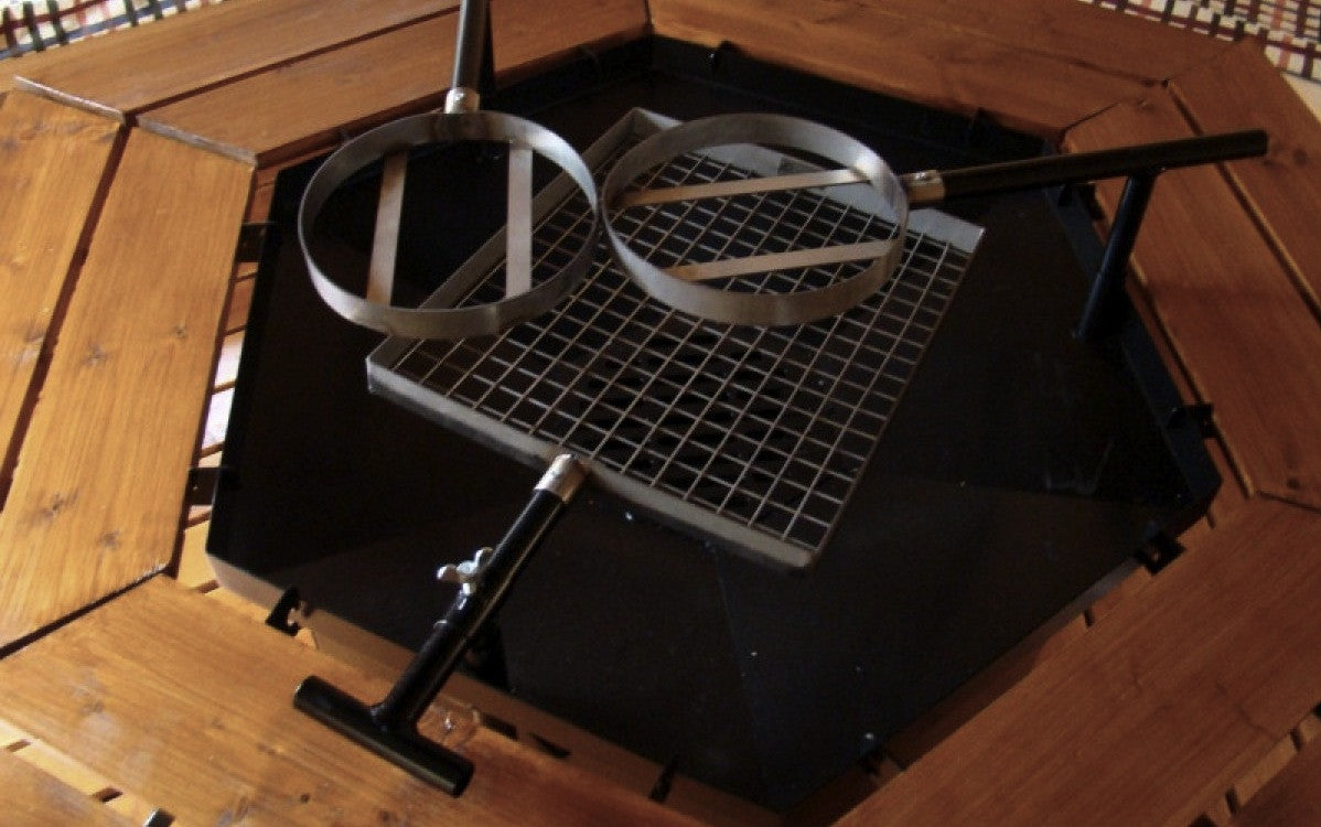 """Standard"" Grill & Chimney Set For Grill kota BBQ hut"