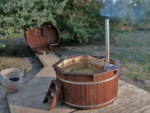 Traditional Wooden Hot Tub