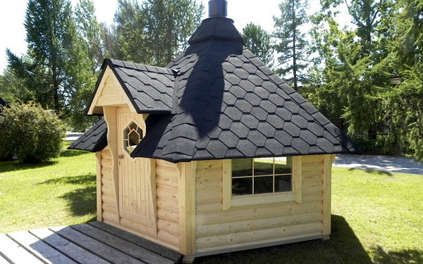 Small bbq hut for sale best price guarantee see more on for Small garden huts