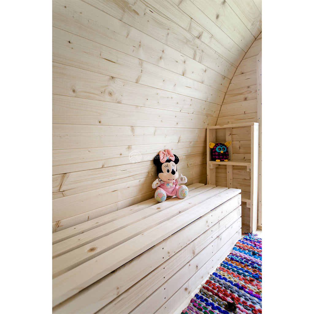 Flat Pack Glamping - Camping Pod Kits For Sale | Insulated