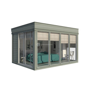 contemporary garden room 3d model