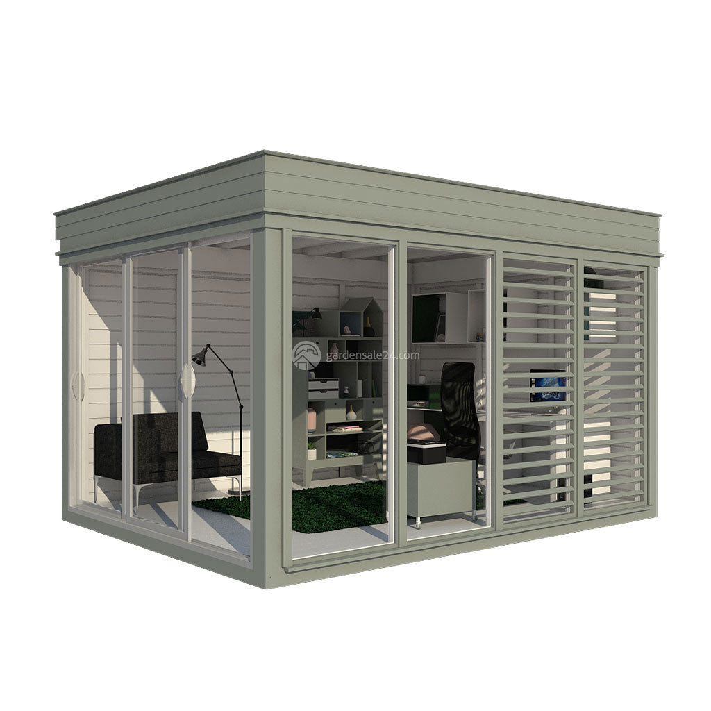 garden office room exterior