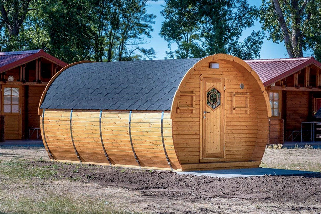 Exclusive Sleeping Barrel For Glamping