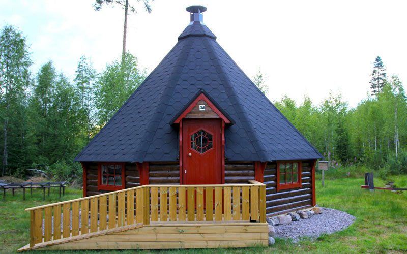 large finnish bbq hut in uk