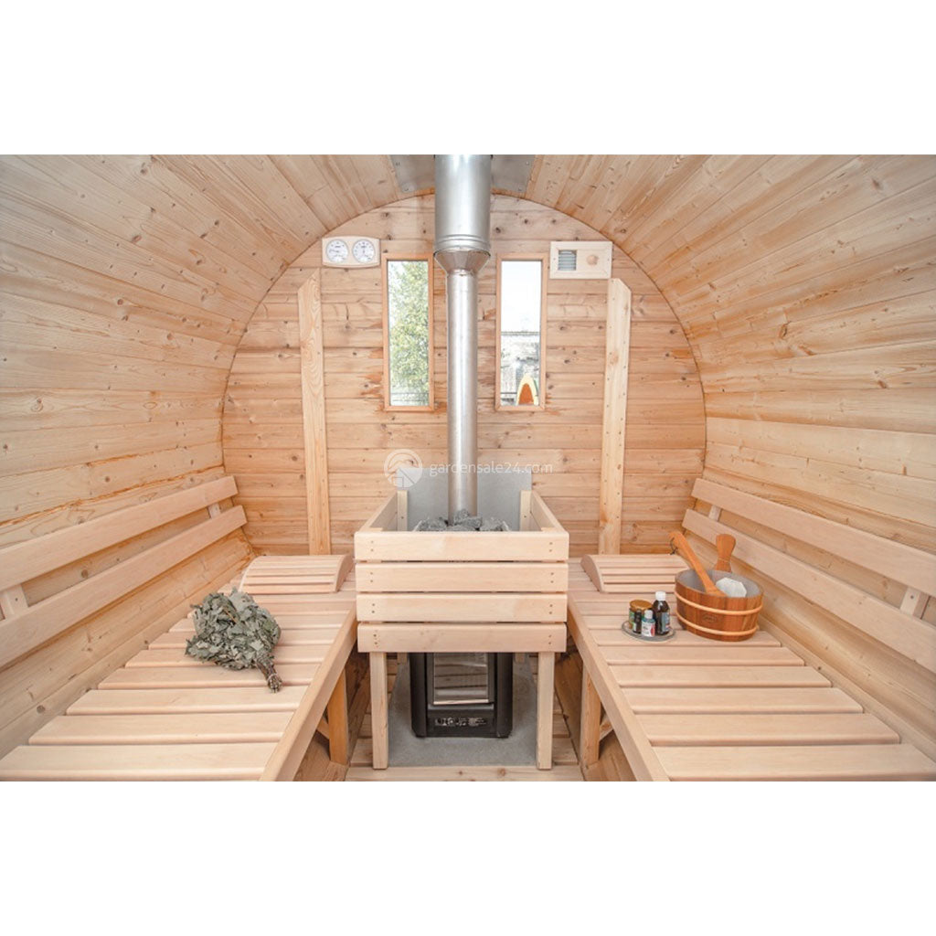 Barrel Sauna KIT (Ø 1.9 M)