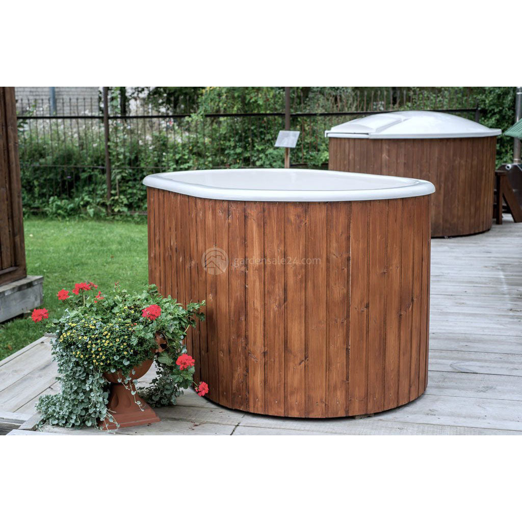 spa hire week barrel premium weekend tub rent hot pht
