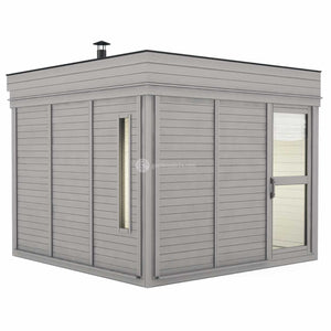 Sauna Cube With Changing Room (3 x 3)