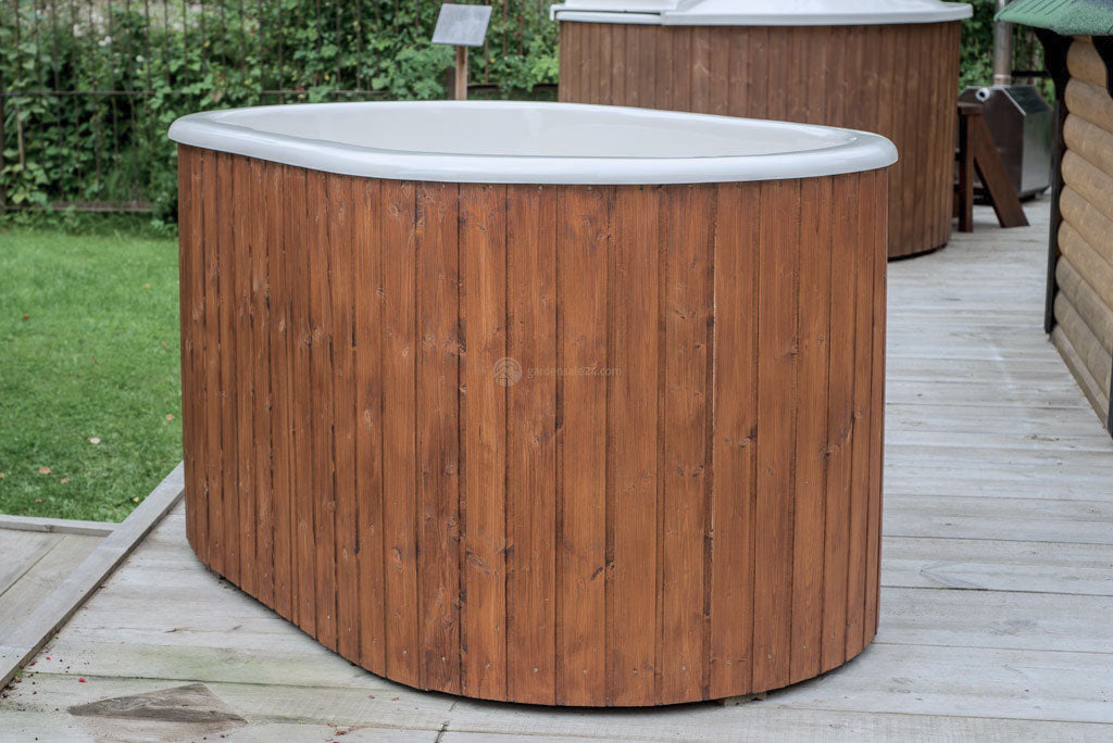 Modern Ofuro Hot Tub For 2 Persons - Gardensale24.com