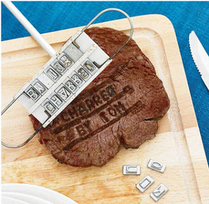 Cool BBQ Stamp